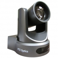 PTZOptics 20X-NDI Grey - 20X Optical Zoom - NDI, 3G-SDI, HDMI, CVBS, IP Streaming - 1920 x 1080p - 60.7 degree field of view