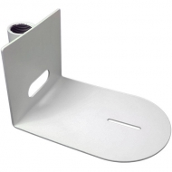 Universal Small Ceiling Mount for use with 1 pipe Attachment (White)