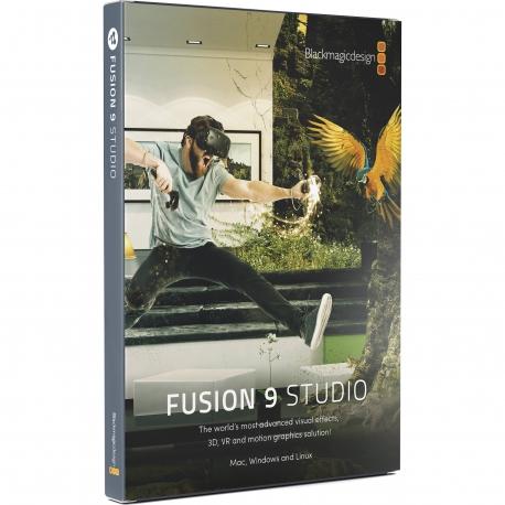 BLACKMAGIC DESIGN FUSION STUDIO (Windows version)