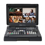 DATAVIDEO HS1600T - 4-Channel HD/SD HDBaseT Portable Video Streaming Studio