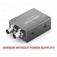 BLACKMAGIC DESIGN MICRO CONVERTER SDI to HDMI (versie zonder power supply!)