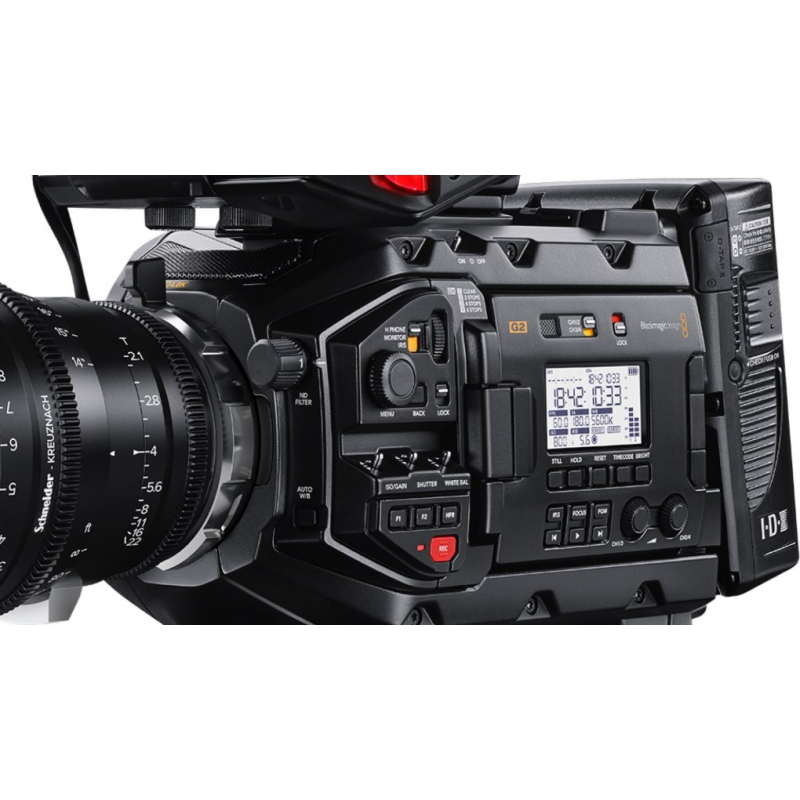 BLACKMAGIC DESIGN URSA MINI PRO 4 6K G2 (generation 2) - VIANTO be