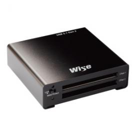 WISE DUAL CFAST CARD READER USB 3.1 GEN2