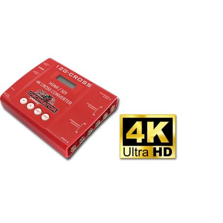 DECIMATOR 12G-CROSS - 4K HDMI/SDI cross converter with scaling
