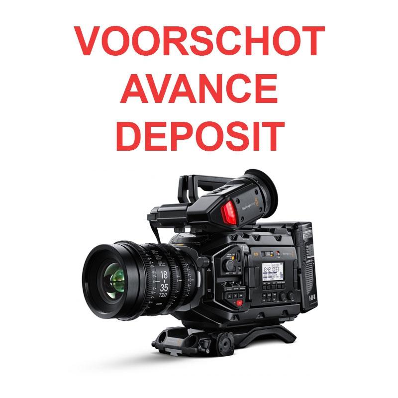 Avance Pour Pre Commande Blackmagic Design Ursa Mini Pro 4 6k G2 Generation 2 Vianto Be