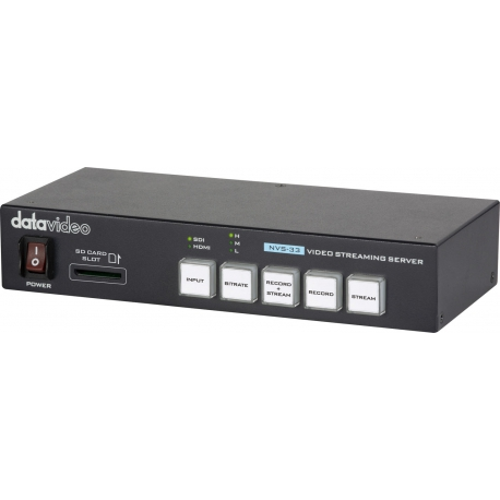 DATAVIDEO NVS-33 - H.264 Video Streaming Encoder & MP4 Recorder