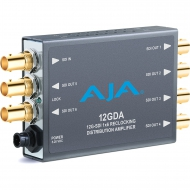 AJA 12GDA - 12G-SDI reclocking distribution amplifier