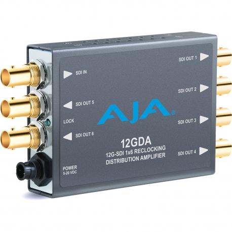 AJA 12GDA - 12G-SDI reclocking distribution amplifier