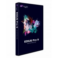 GRASSVALLEY EDIUS PRO 9 - Upgrade from Pro 8 or Workgroup 8 (License Key)