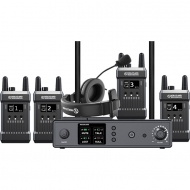 HOLLYLAND MARS T1000 - Full duplex wireless intercom with 4 beltpacks