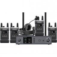 HOLLYLAND MARS T1000 - Full duplex wireless intercom met 4 beltpacks