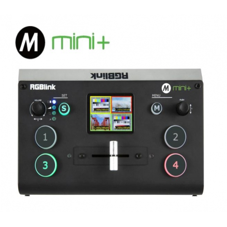 RGBLINK MINI - 4 channel HDMI videomixer with USB3 streaming