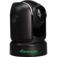 """BirdDog P4K Black. 4K 10-Bit Full NDI PTZ with 1"""" Sony Sensor."""