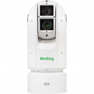 BirdDog Eyes A300 IP67 Extreme Weatherproof Full NDI PTZ Camera w/Sony Sensor & SDI (White) (PSU sold seperately)