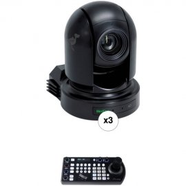 BirdDog 3x P200 Black and 1x FREE PTZ Keyboard Controller