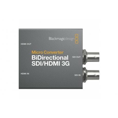BLACKMAGIC DESIGN MICRO CONVERTER BiDirectional SDI/HDMI 3G (incl. power supply)