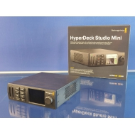EX-DEMO BLACKMAGIC DESIGN HYPERDECK STUDIO MINI - ULTRA-HD/HD/SD SD kaart recorder