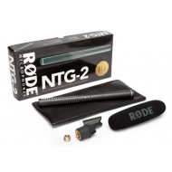 Rode NTG2 - Multi-Powered Condenser Shotgun Microphone
