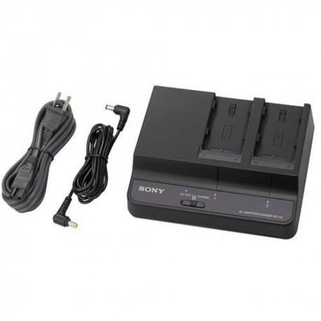 Sony BC-U2 - Two-channel simultaneous battery charger/AC adaptor