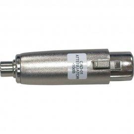 Datavideo CAD-01 Balanced to Unbalanced (XLR to RCA) audio attenuator (set of 2 -10dB)